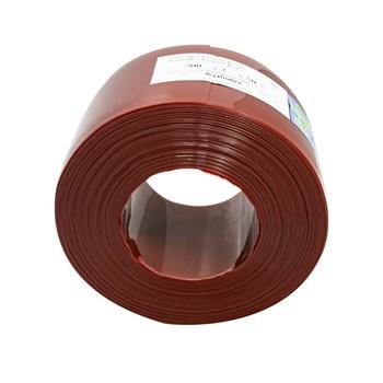 Bobina de cortina em tiras para solda 2mm Vermelha 20 cm X 50 m (50 METROS)