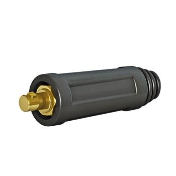Engate rapido c/porca de aperto p/ cabo macho 12,80 mm