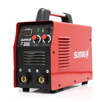 Máquina de Solda Inversora para Eletrodo Fox 200 + UNIFORME + LUVA + TOUCA FIRE