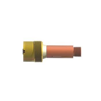 Porta bico difusor gás lens 2,38 mm 45V26 rosca grossa (5 UNIDADES)