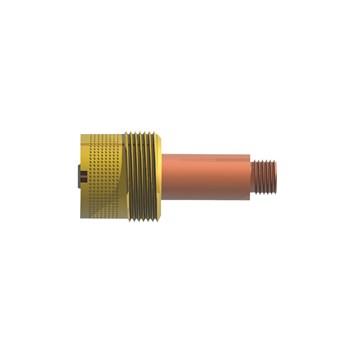 Porta bico difusor super gás lens 2,38 mm 45V64 rosca grossa (5 UNIDADES)